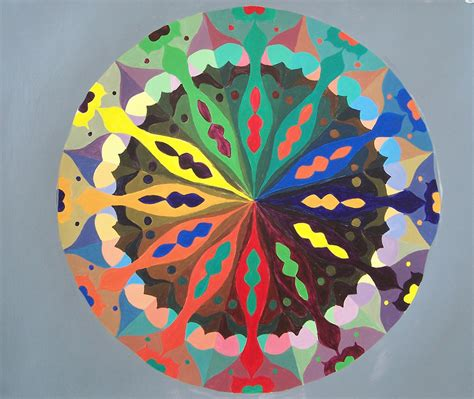 creative color wheel creative color wheel 2009 whitney kenney acrylic on