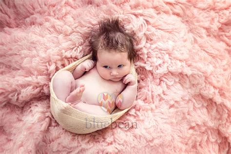 Flokati Rug Newborn Photography by Newborn Baby Hair In And Pink Flokati Fur Rug