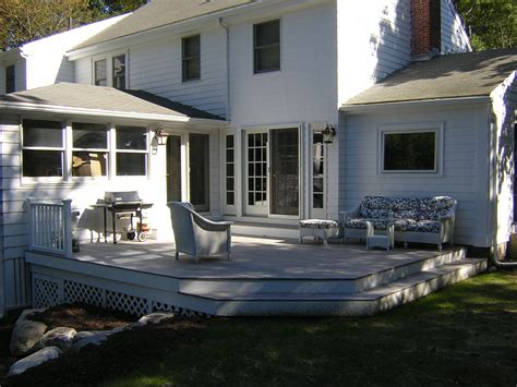custom  deck  exterior french doors  wooden hammer llc custommadecom