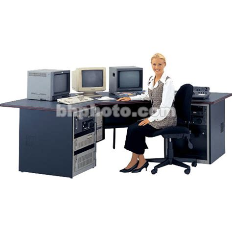 Winsted Desk by Winsted Multimedia Desk With Corner Design E4703 B H Photo