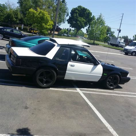 92 mustang 5.0 notchback chp for sale in sacramento