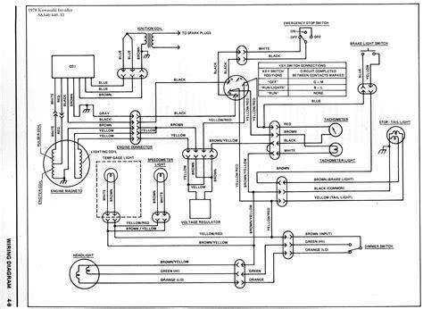 kawasaki mule ignition wiring diagram  wiring diagram