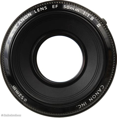 Lensa Canon Ring canon ef 50mm f 1 8 review