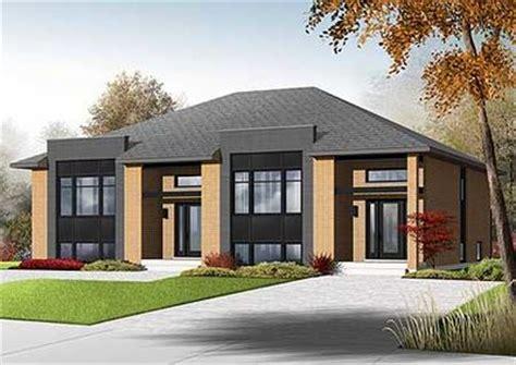 Sleek Modern Multi Family House Plan 22330dr | sleek modern multi family house plan 22330dr