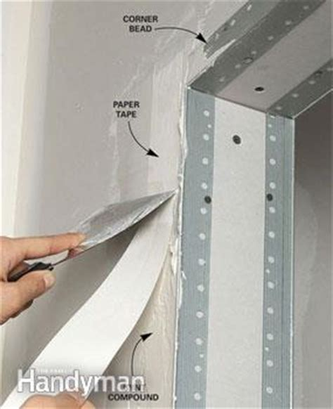 how to mud metal corner bead drywall taping tips family handyman