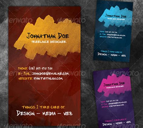 Z Grafix Business Card Template by 50 Cool Premium Business Card Templates Naldz Graphics