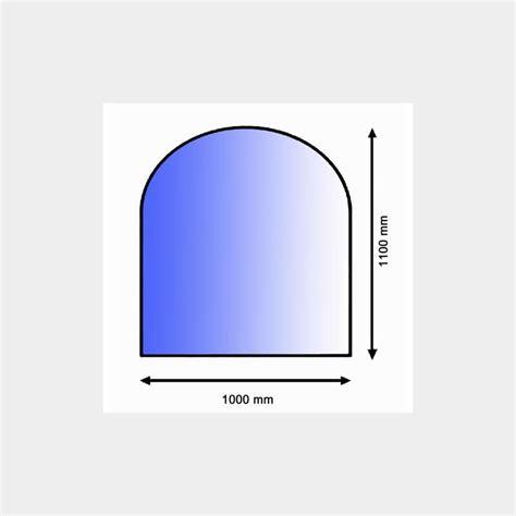 kaminofen unter 1000 glasplatte zunge 1000 x 1100mm mitzner energie
