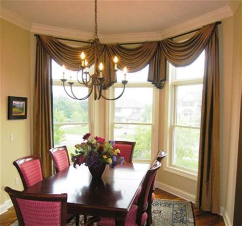 window treatments for bay windows in dining room dining room bay window curtain ideas curtain menzilperde net