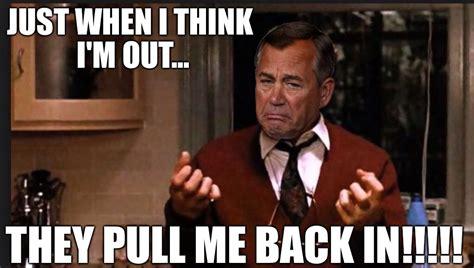 Godfather Meme Generator - image tagged in john boehner godfather al pacino gop