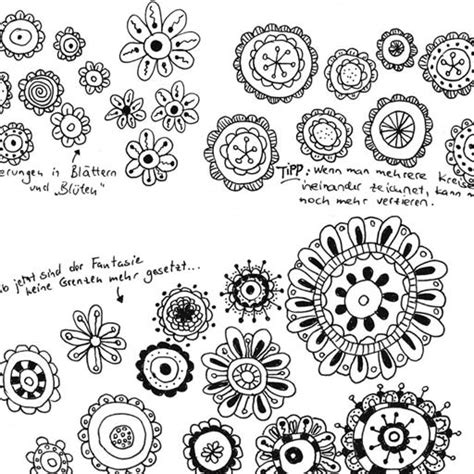 doodle zeichnen zeichnen lernen im doodle stil in lustigen kleinen