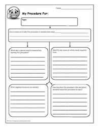 procedure writing templates procedural writing procedural writing