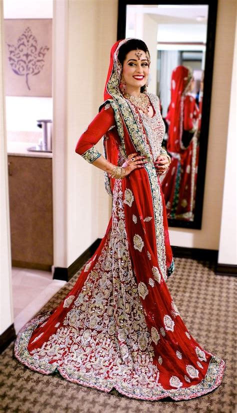 Heavy embroidery punjab traditional wedding dresses