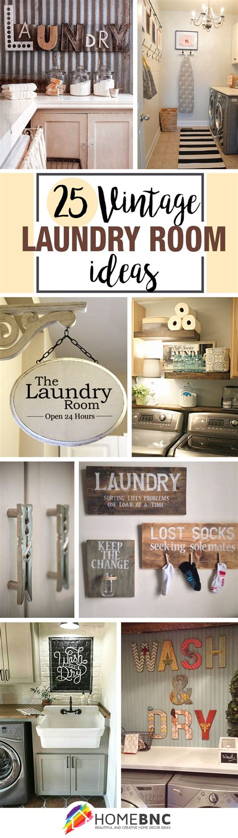 Vintage Laundry Room Decorating Ideas 25 Best Vintage Laundry Room Decor Ideas And Designs For 2017