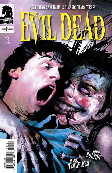 evil dead    profile dark horse comics