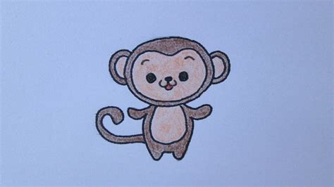 imagenes de monos faciles para dibujar c 243 mo dibujar un mono youtube