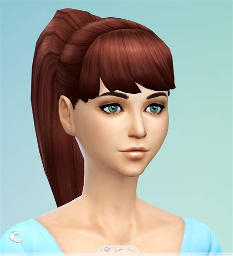 ponytail hair sims 4 my sims 4 blog edited ponytail by simsticle