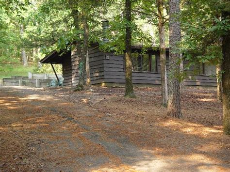 one of the duplex cabins picture of beavers bend resort