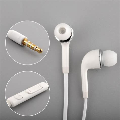 Headset Samsung S4 Original 100 Ori 100 Mic genuine samsung galaxy headphones earphones for s3 s4 s5 s6 note 1 2 ebay