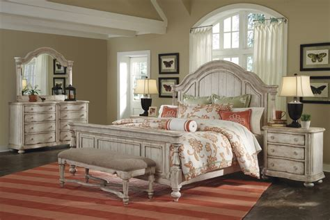 belmar ii whitewash finish casual panel bedroom set