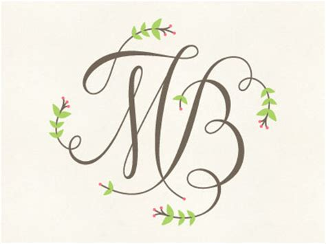 mb monogram by ashley jankowski dribbble