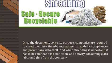 Commercial Document Shredding