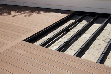 OUTDURE   Decking over concrete, tiles or pavers