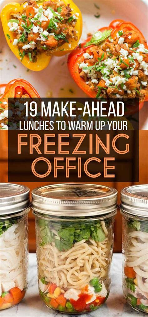 hot office lunch ideas 25 best ideas about make ahead lunches on pinterest