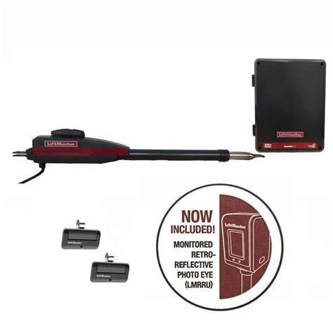 liftmaster myq technology liftmaster chamberlain la 400 single swing gate opener w