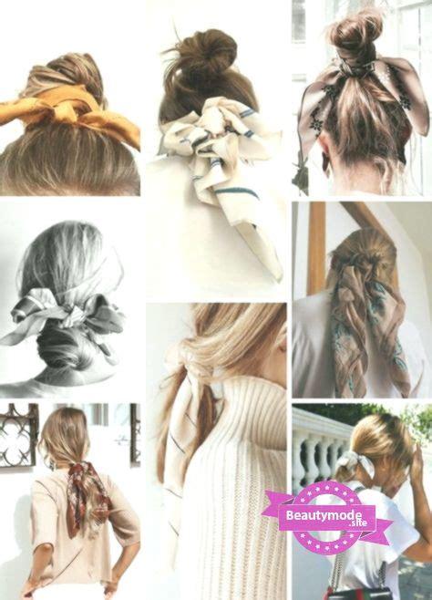 Holen Sie Sich Den Look Haarschals Haare Frisuren