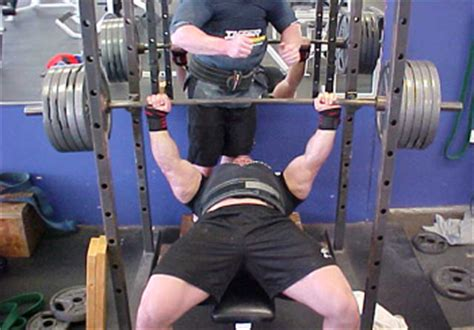 record bench press weight ryan kennelly bench press routine tips