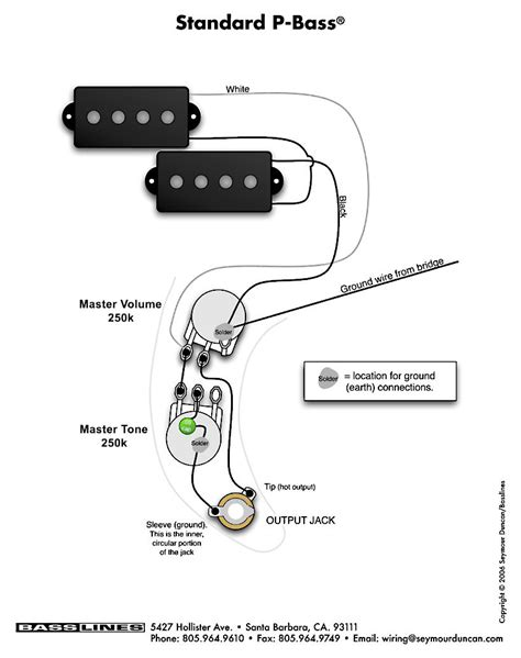 bass wiring diagrams p bass pastrana guitars
