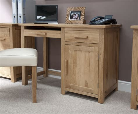 Forest Oak Small Computer Desk Small Computer Desk Uk