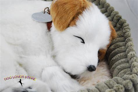 lifelike puppy like stuffed animal breathing petzzz