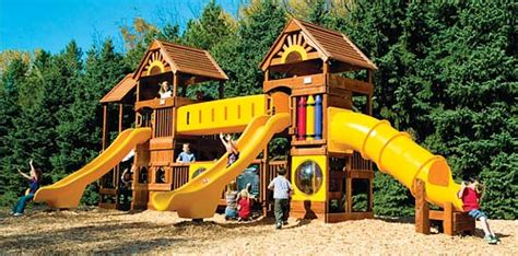 swing set superstore commercial playgrounds rainbow swing set superstores