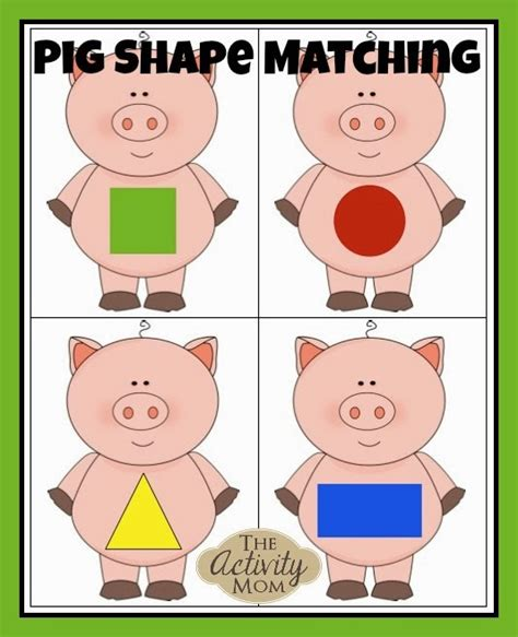 printable toddler games the activity mom free printable matching games