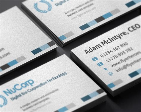 creativemarket corporate business card template 388220 nucorp corporate business card business card templates