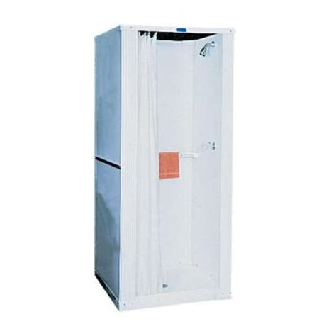 Plastic Shower Stall Swan 32 In X 32 In X 73 In Free Standing Plastic Shower