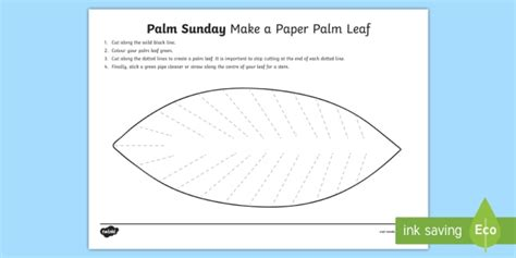 palm branch template palm leaf template christianity religion christian