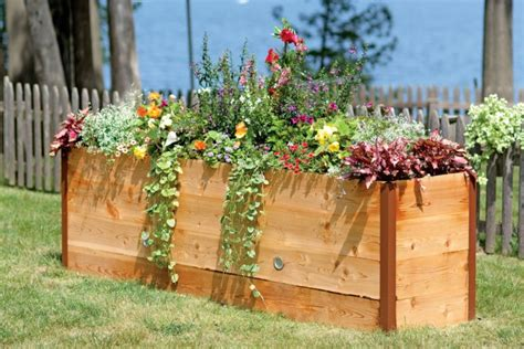 raised beds ideas for the design of your garden in spring fresh design pedia
