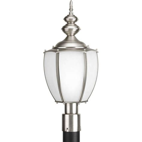 home depot coach lights progress lighting coach collection 1 light brushed