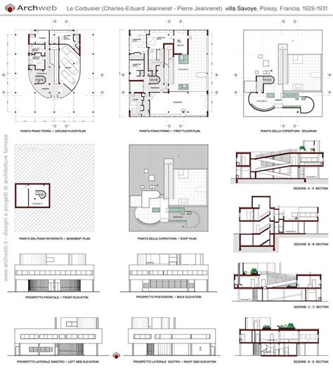 villa savoye floor plan dwg 25 b 228 sta id 233 erna om villa savoye plan p 229 pinterest