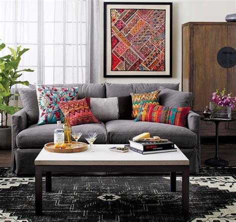 crate and barrel crate and barrel living modern living room chicago