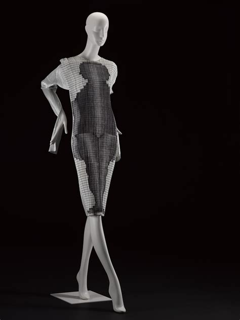 Issey Miyakes Populist Fashion by Issey Miyake Pleats Dress