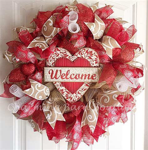 valentines day wreaths s day s day wreath valentines