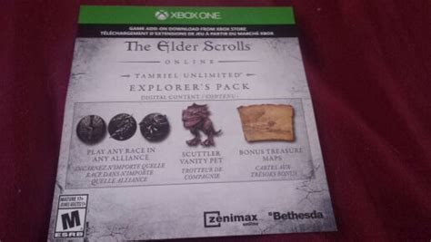 exclusive elder scrolls  dlc explorers pack