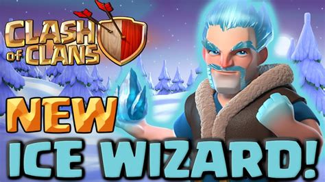 Clash Of Clans Wizard C003 clash of clans new troop wizard clashmas gift 3 attacks and gameplay