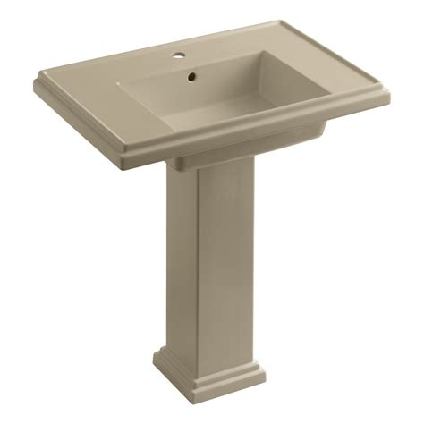 Tresham Pedestal Sink kohler k 2845 1 0 tresham 30 inch pedestal bathroom sink with single faucet