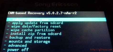tutorial android recovery todo android tutorial cwm recovery