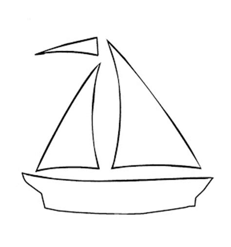 boat cut out 5 best images of free printable sailboat stencils