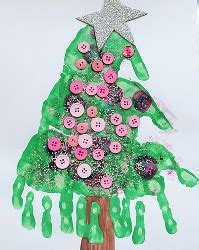 christmas tree crafts for preschool using handprint 11 crafts for to create free ebook allfreechristmascrafts
